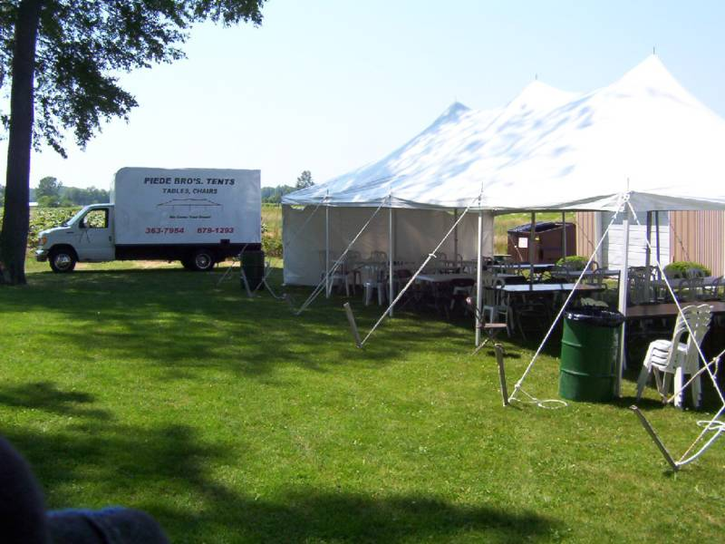 One of our tents at an event.